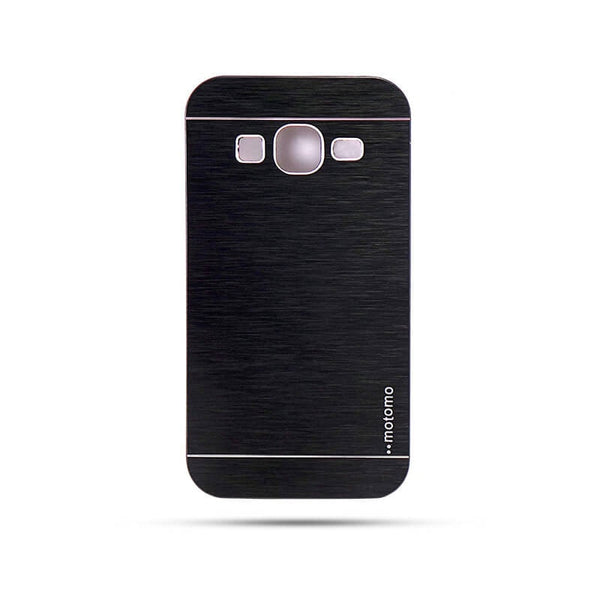Samsung Galaxy Core Prime Sm-G360 Mobile Metal Back Case Black