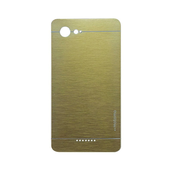 Sony Xperia E3 Mobile Metal Back Case Golden