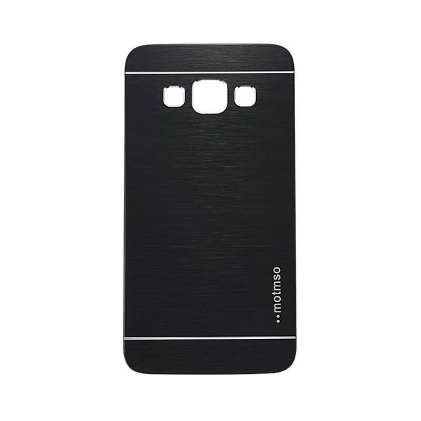 Samsung Galaxy A3 Mobile Metal Back Case Black