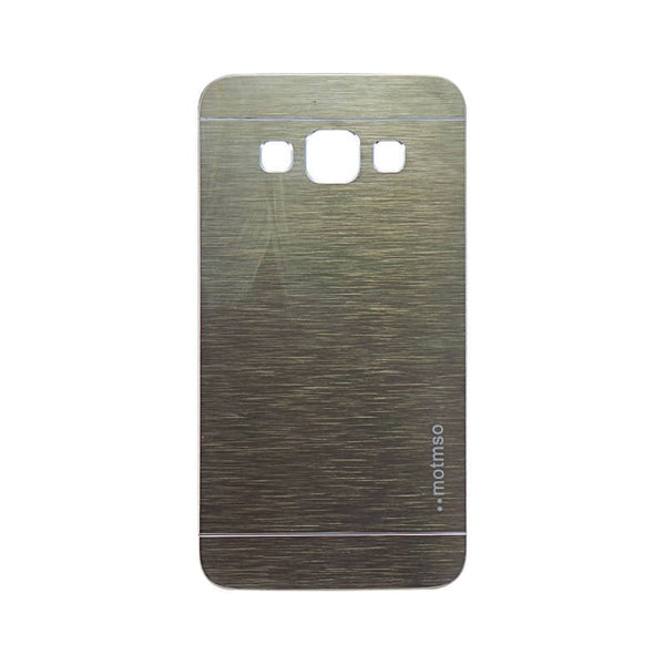 Samsung Galaxy A3 Mobile Metal Back Case Golden
