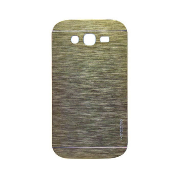 Samsung Galaxy Grand Quattro 8552 Mobile Metal Back Case Golden