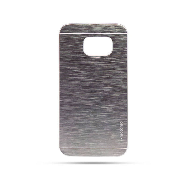 Samsung Galaxy S6 Edge Mobile Metal Back Case Silver