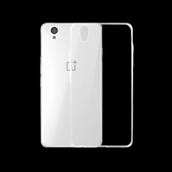 One Plus X Mobile Transparent Back Case
