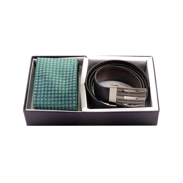 Mayo Mens Luxury Tie & Belt 2 in 1 Set
