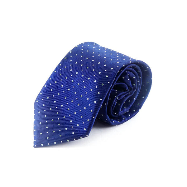 Mayo Design Tie Sky Blue & Green