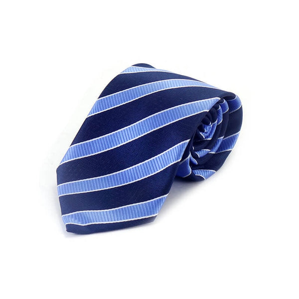 Mayo Design Tie black & blue lining