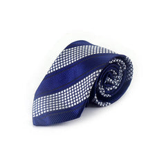 Mayo Design Tie blue & white combination