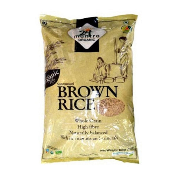 24 Lm Organic Sonamasuri Brown Rice