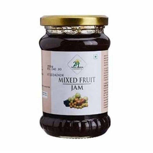 24 Lm Organic Mixed Fruit Jam - BazaarCart Best Online Grocery Store