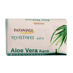 Ramdev Patanjali Aloe Vera Kanti Body Cleanser Soap 75 Gm