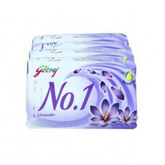 Godrej No.1 Soap Lavender & Milk Cream 4 x 100 Gm