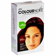 Godrej Colour Soft Light Brown 4 80 Ml + 24 Gm