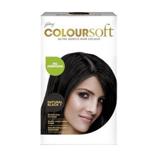 Godrej Colour Soft Natural Black 1 80 Ml + 24 Gm