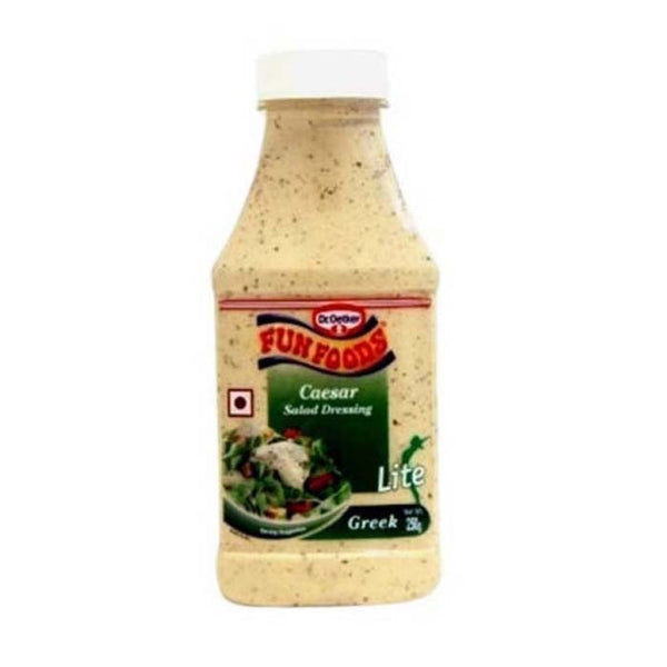Funfoods Caesar Greek Salad Dressing Lite 250 Gm