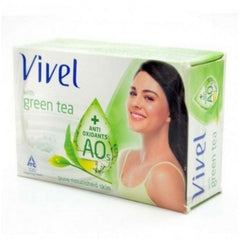 Vivel Green Tea Pure Nourished Skin Soap 4 x 100 Gm