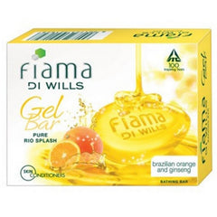 Fiama Di Wills Pure Rio Splash Brazilian Orange & Ginseng Soap
