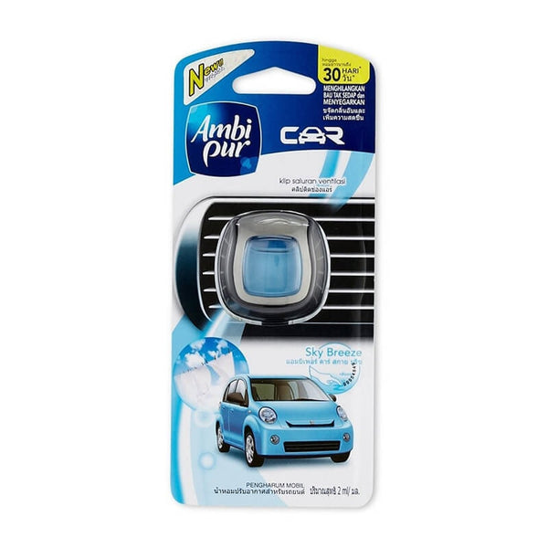 Ambi Pur Sky Breeze Vent Clps Car Air Freshener