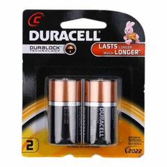 Duracell C Battery 2Pcs