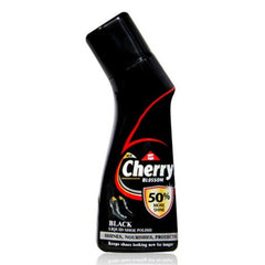 Cherry Blossom Black Liquid Shoe Polish 75 Ml