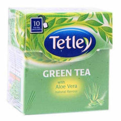 Tetley Green Tea With Aloe Vera Tea Bags