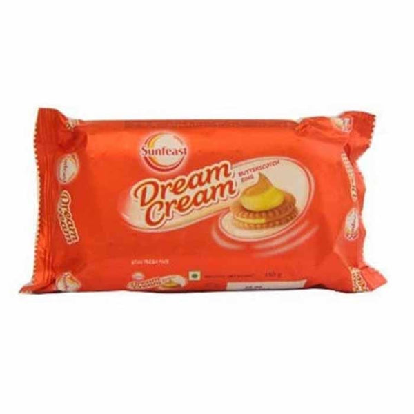 Sunfeast Dream Cream Butter Scotch Zing 120 Gm