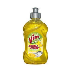 Vim Dishwash Gel Yellow Lemon Bottle