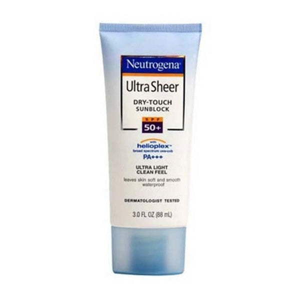 Neutrogena Ultra Sheer Dry Touch Sun Block Spf 50+ 88 Ml