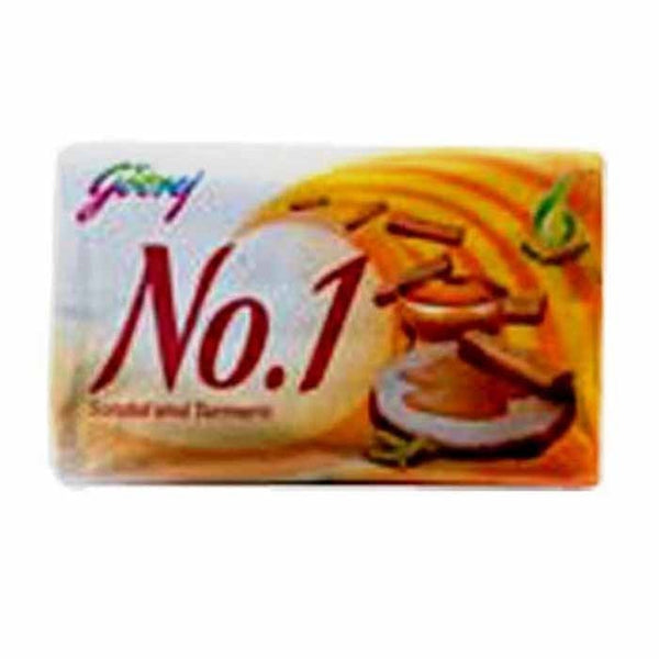 Godrej No.1 Sandal Turmeric Soap 4 x 65 Gm