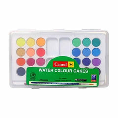 Camel Water Colour Cakes