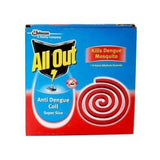 All Out Anti Dengue coil pack of 10 - BazaarCart Best Online Grocery Store