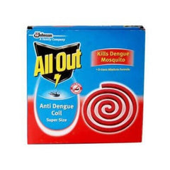 All Out Anti Dengue coil pack of 10