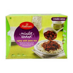 Haldiram Minute Khana Rajma With Jeera Rice 375 Gm