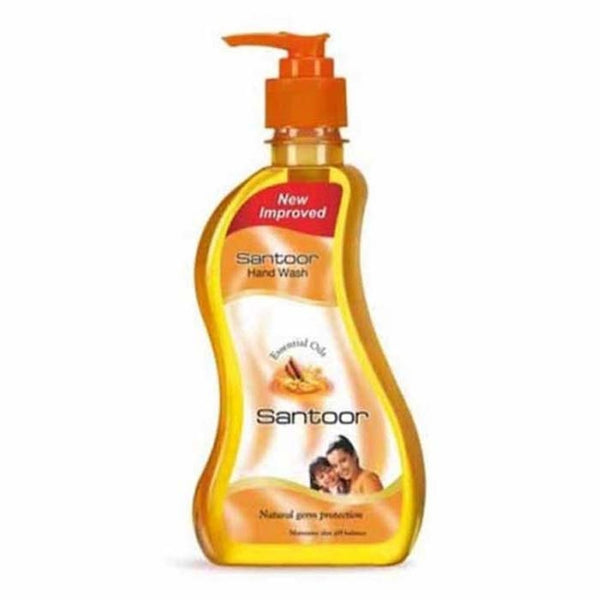 Santoor Hand Wash Essential Oil Pump