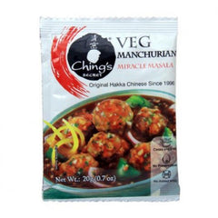 Chings Miracle Masala Veg Manchurian 20 Gm
