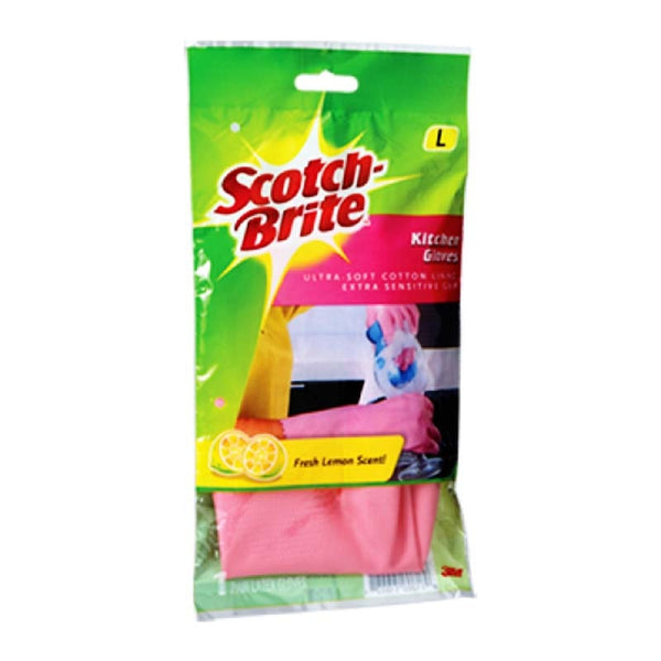 SCOTCH BRITE HEAVY DUTY OUTDOOR GLOVES MEDIUM 9.5 CM