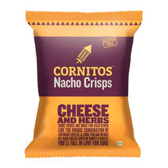 CORNITOS NACHO CHEESE AND HERBS CRISPS 60 Gm