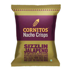 CORNITOS NACHO SIZZLIN JALAPENO CRISPS 60 Gm