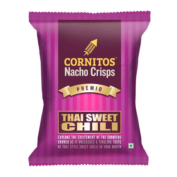 CORNITOS NACHO THAI SWEET CHILLI CRISPS 150 Gm