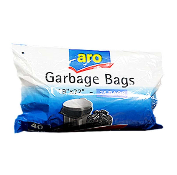 "Aro Garbage Bags Small 19""X 22"" 25BAGS"