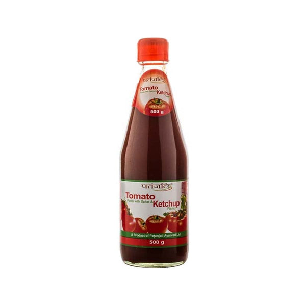 Ramdev Patanjali TOMATO KETCHUP (WITH ONION,GARLIC) 500 Gm