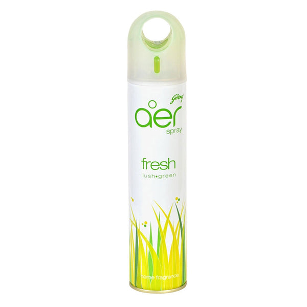 Godrej Aer Spray Fresh Lush Green Home Fragrance Air Freshener 300 Ml