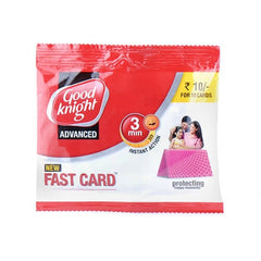 Good Knight Advance Fast Card 3 Min Instant Action 10 Card Packs