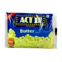 Act Il Microwave Popcorn Butter Flavour - BazaarCart Best Online Grocery Store