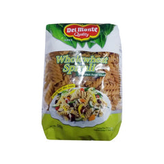 Delmonte Wholewheat Spirali Pasta 500 Gm