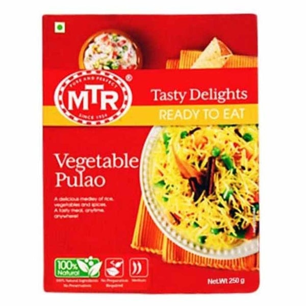Mtr Ready To Eat Vegetable Pulao