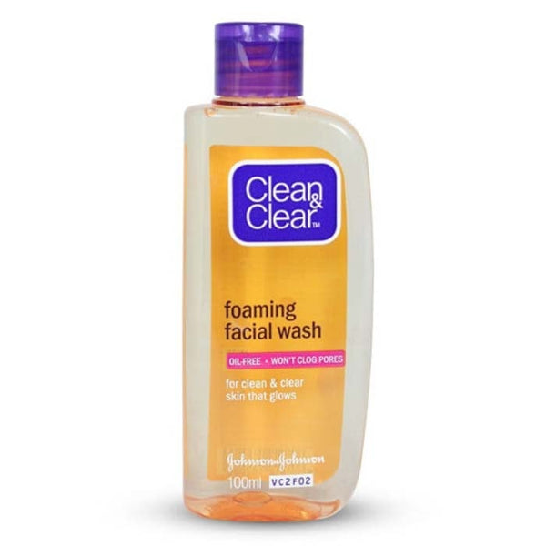Clean & Clear Foaming Facial Face Wash 50 Ml
