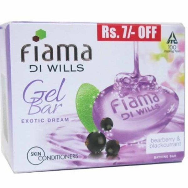 Fiama Di Wills Gel Bar Bearberry & Blackcurrant Exotic Dream Bathing Bar