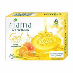 Fiama Di Wills Gel Bar Pure Rio Splash Brazilian Orange & Ginseng Bathing Bar 3 x 125 Gm