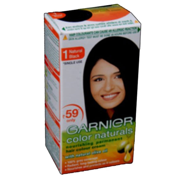 Garnier Color Natural -1 Natural Black Olive Oil