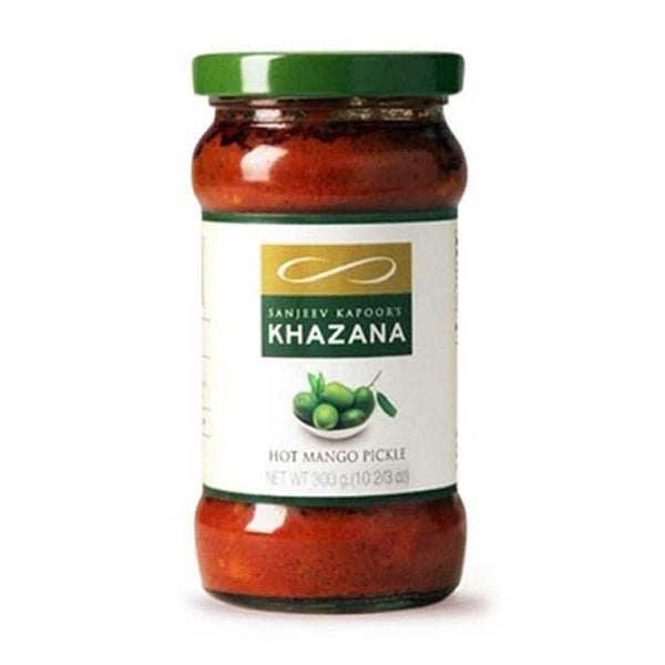 Sanjeev Kapoor Khazana Pickle Hot Mango 300 Gm